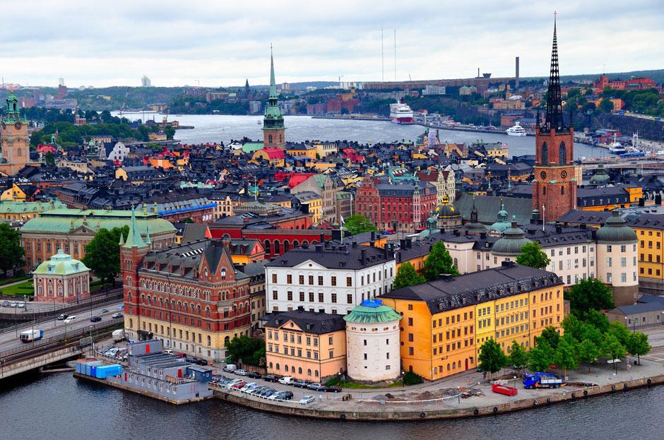 Стокгольм, Швеция самые безопасные города мира
