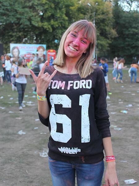 Фестиваль красок холи в Саратове, фото
