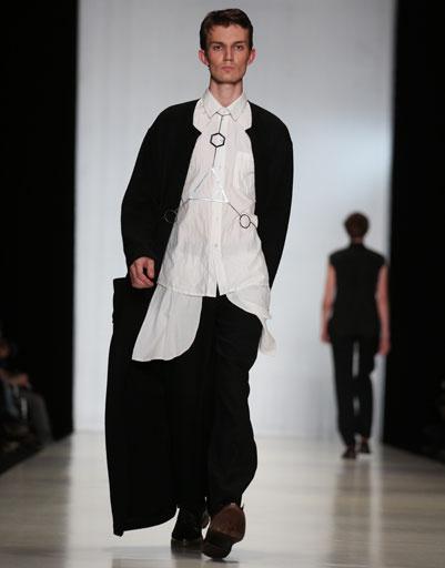 Mercedes-Benz Fashion Week Russia: коллекция LEONID ALEXEEV весна-лето 2013