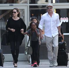 Приемная дочь не хочет жить с Анджелиной Джоли