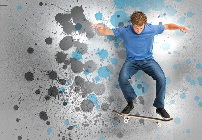катаемся на скейте