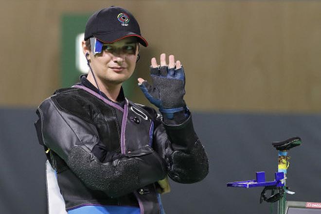 Владимир Масленников, пулевая стрельба, Олимпиада в Рио-де-Жанейро, фото