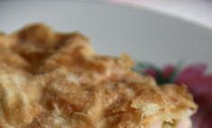 Французский пирог с сыром: фоторецепт