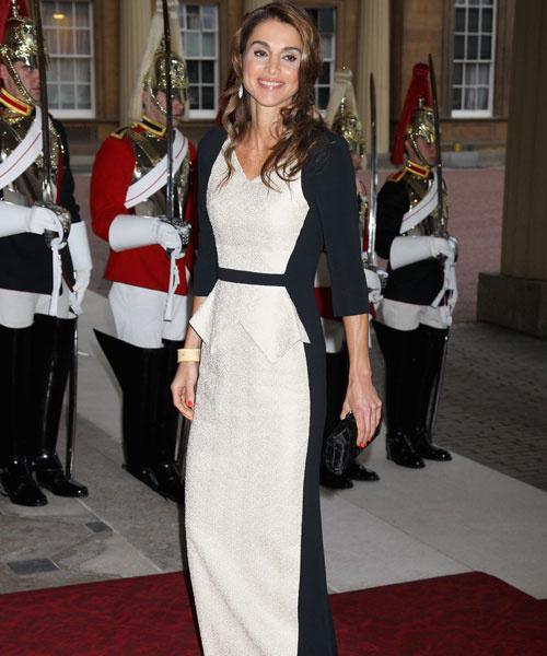 Королева Иордании Рания, 2012 год