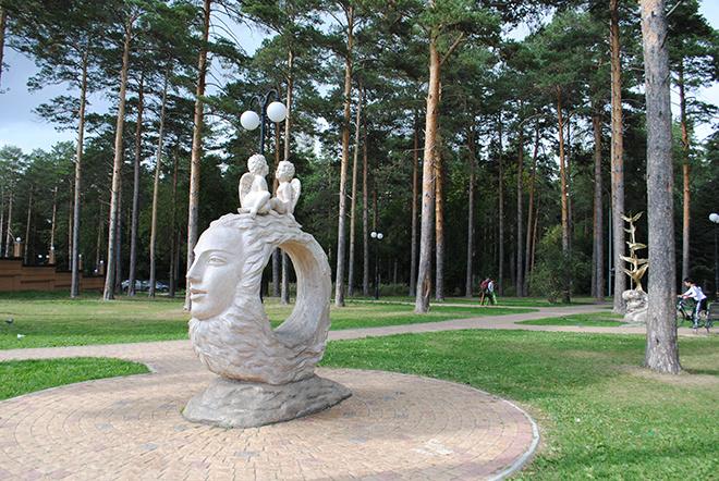 Самые красивые места в Новосибирске Эдемский сад
