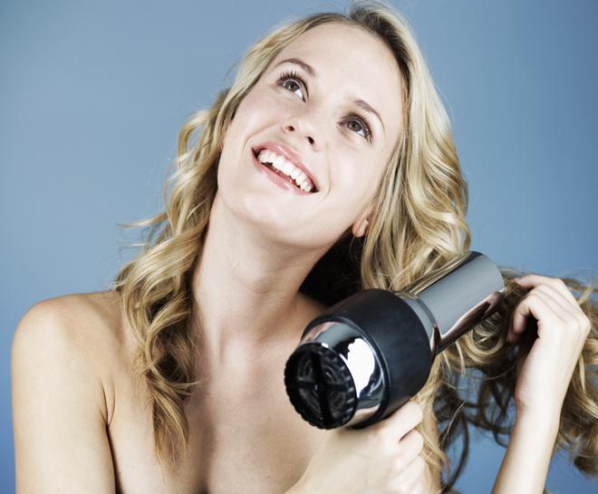 Как высушить волосы?
