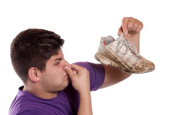 Запаха пота в обуви