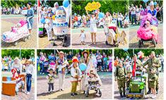 Голосуй за самый оригинальный образ «Парада колясок 2015» в Новокузнецке!