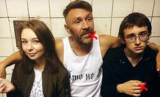 Ну и папа! Шнуров учит дочь и сына пить и курить