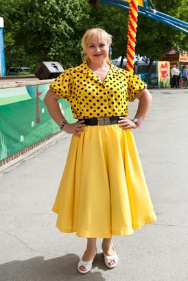 Светлана Пермякова в Новосибирске