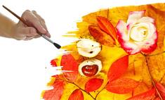 Делаем флористический коллаж – композицию из цветов и трав