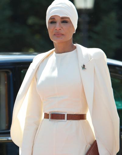 Шейха Моза бинт Нассер пропагандирует ближневосточный стиль