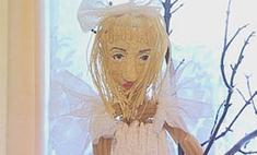 Школьник создал Леди ГаГа из макарон