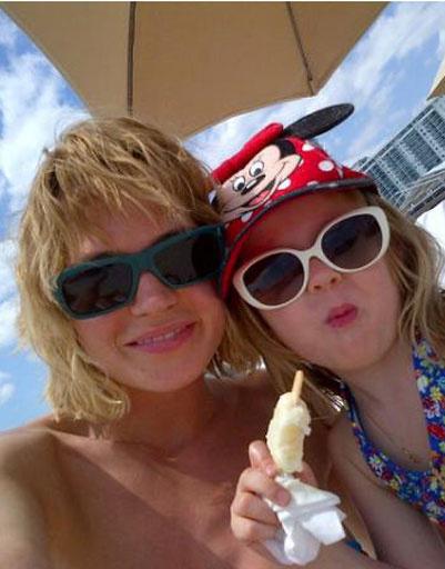 Глюкоза с дочкой Лидой
