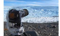 самый большой раскол ледника записанный видео