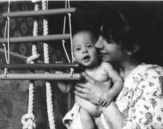 Иван Ургант с мамой