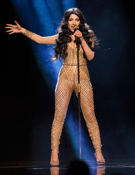 Евровидение - 2016: выступление Самры, Азербайджан