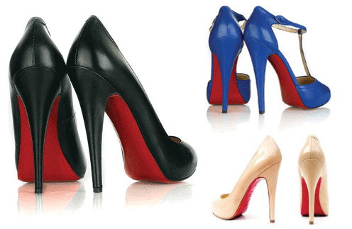 Знаменитые туфли с красной подметкой от Christian Louboutin.
