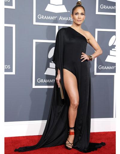 """Дженнифер Лопес (Jennifer Lopez) на """"Грэмми""""-2013"""
