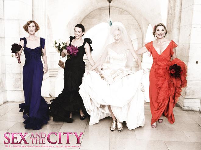 Кадр 7 из фильма Секс в большом городе /Sex and the City: The Movie.