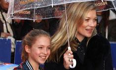Стиль звезд: Кейт Мосс вывела дочь в свет