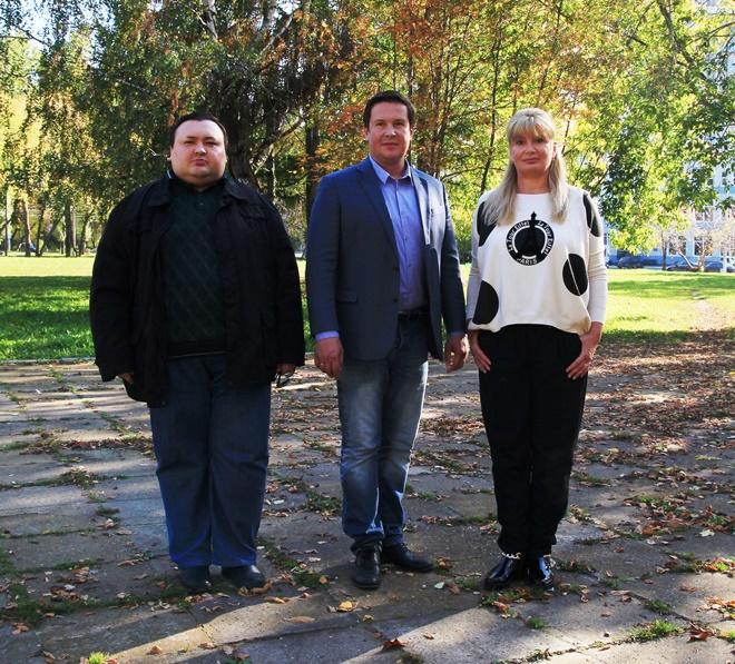 Данис Глинштейн, Дмитрий Штоколов и Альбина Селицкая