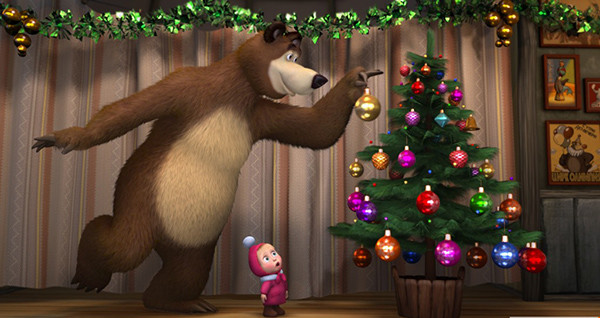 «Новогодние приключения Маши и Медведя»