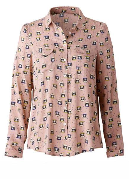 Рубашка Paul & Joe Sister для La Redoute, 3999 рублей