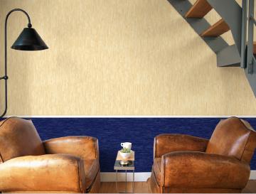 Горизонтальный стык текстильных полотен разного цвета или рисунка закрывают декоративными накладками. Коллекция Classics Delight (Giardini)