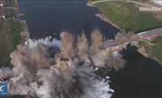 Подрыв крупного моста за 10 секунд (видео)