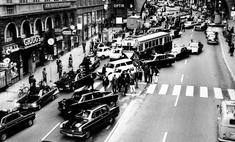 фотографии день швеция перешла правостороннее движение 1967 год