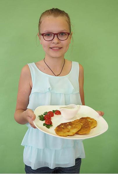 Мария Митрохина, участница кастинга «МастерШеф. Дети», фото