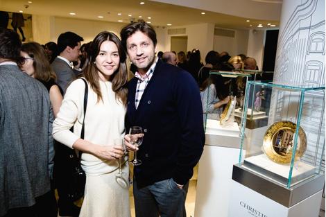 Знаменитости на открытии бутика Tourbillon | галерея [1] фото [6]