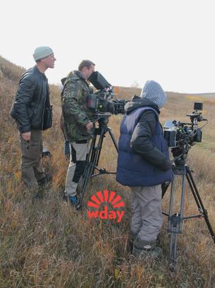 Съемки сериала «Степные волки» в Туле