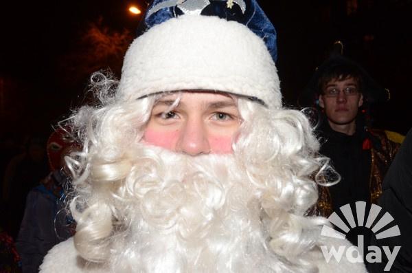 Парад Дедов Морозов в Волгограде