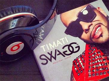 Обложка нового альбома Тимати Swag.