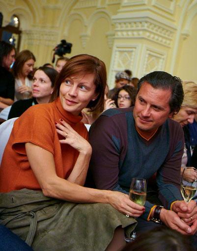 Алена Бабенко со спутником