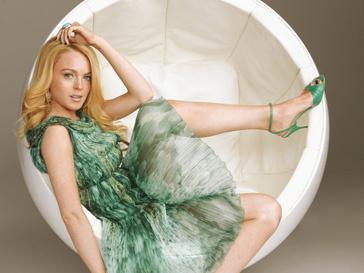 Линдсей Лохан (Lindsay Lohan) будущий дизайнер обуви