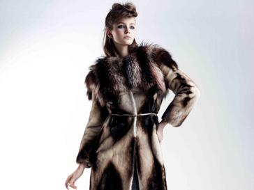 Коллекция меха Yves Salomon, осень-зима 2012/13