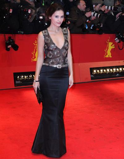 """Вирджиния Ледуайен (Virginie Ledoyen) на премьере фильма """"Прощай, моя королева"""""""
