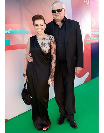 Екатерина Редникова с мужем