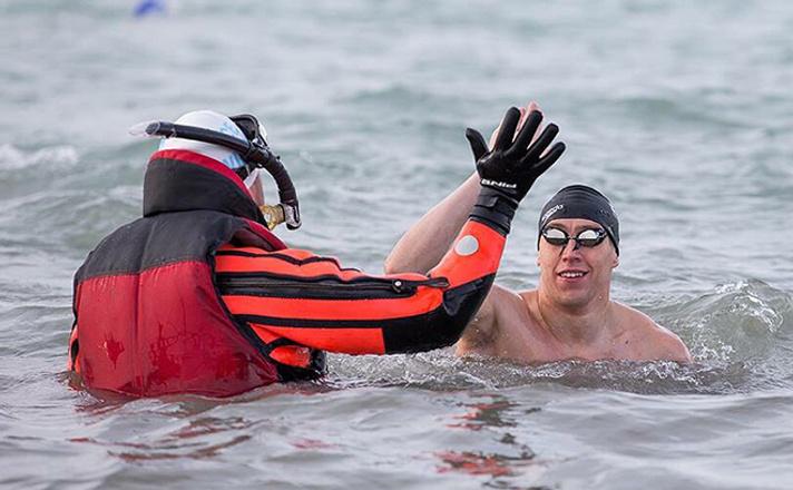 Новосибирский пловец Григорий Ермола