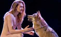 Евровидение-2016: белорус отбивался от волка на репетиции