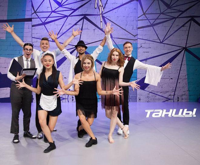 Анна Рогозина в шоу ТЫНЦЫ