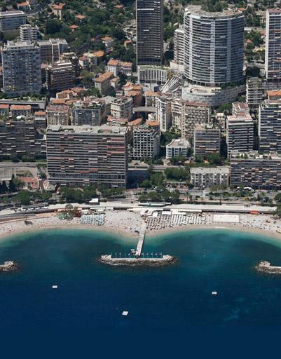 Городской пляж Монако