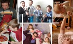 Папа может! 15 отцов, которые не хуже мам