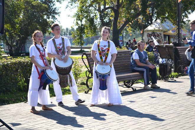 в Иркутске впервые состоялся Парад российского студенчества