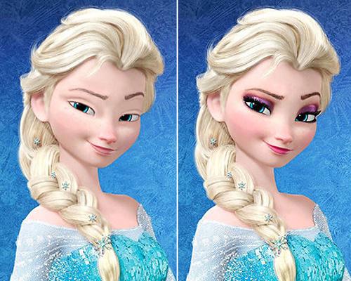 Макияж принцесс диснея фото