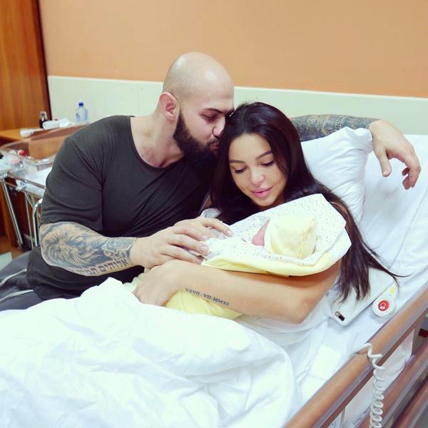 Оксана Самойлова родила третью дочь