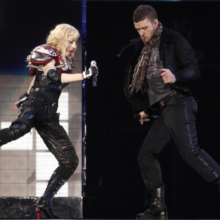 Мадонна и Джастин Тимберлейк